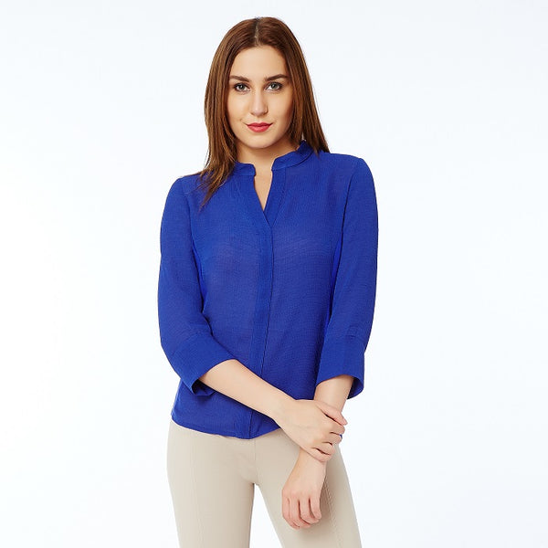 Solid Nevy Blue Top