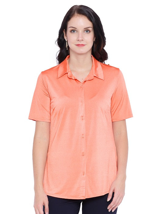 Solid Orange Shirt