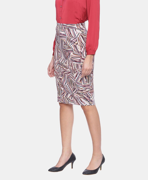 Spacesafari Pencil Skirt