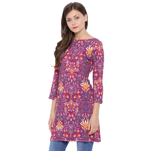 Three Quarter Sleeves Tunic