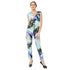 Tropical Printed Jumpsuit