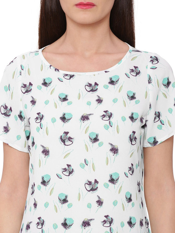 Botanical Floral Autumn Top