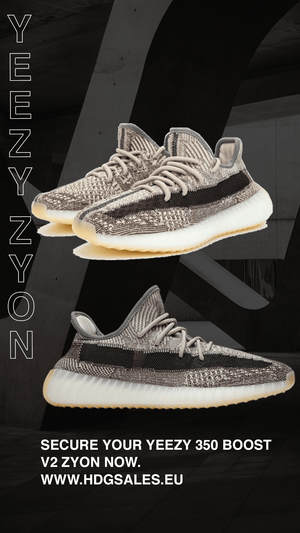 UNRELEASED Yeezy 350 Boost v2 Zyon Unboxing - HDG.sales