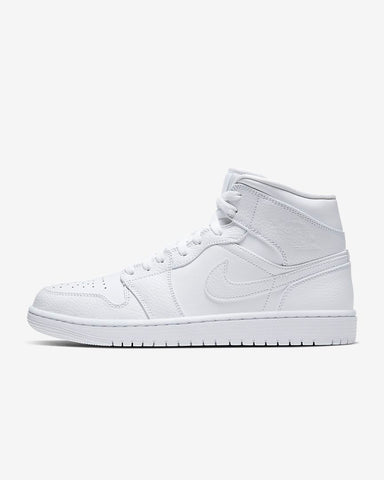 White Air Jordan 1 Mid