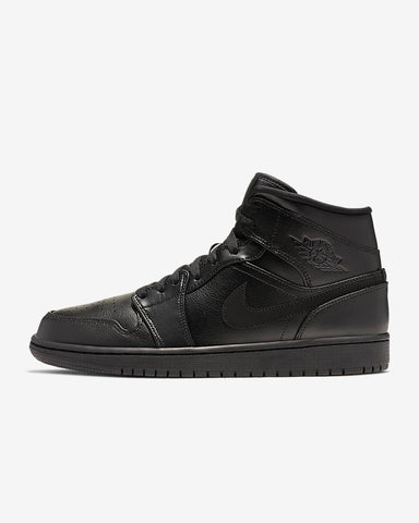 Black Air Jordan 1 Mid