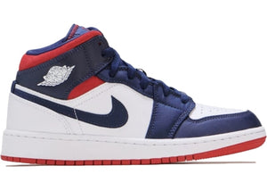 Air Jordan 1 Mid SE USA (GS)