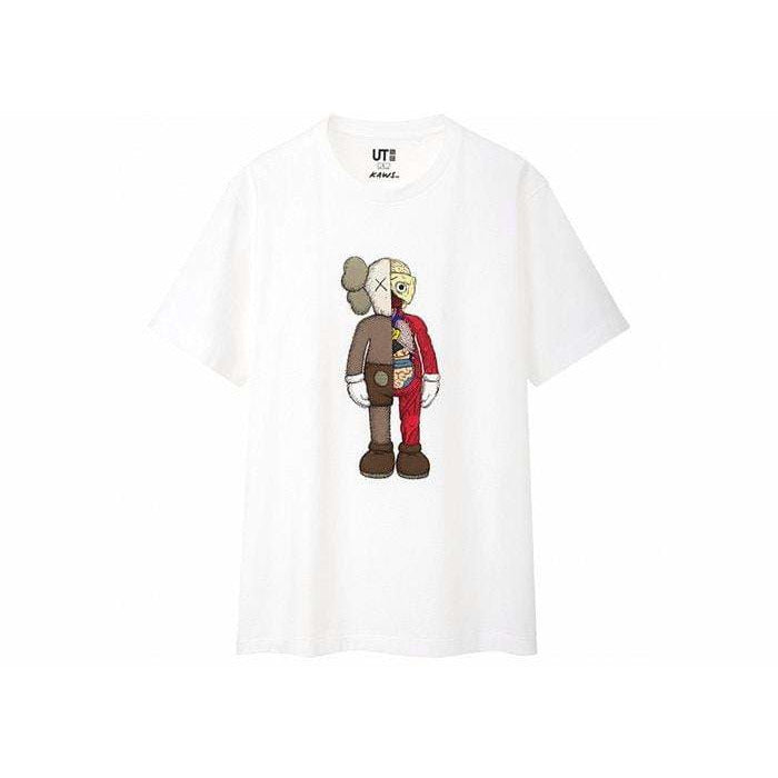 KAWS x Uniqlo Flayed Tee White - Authentic limited sneakers at HDG.sales