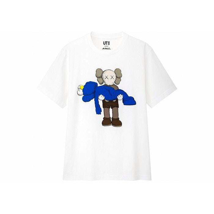 KAWS x Uniqlo Gone Tee White - Authentic limited sneakers at HDG.sales