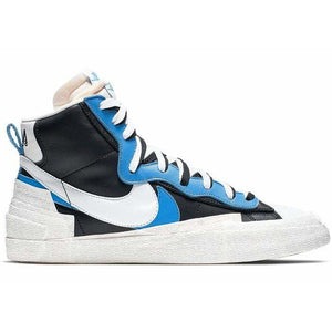 Nike LD Blazer Sacai Black Blue - Authentic limited sneakers at HDG.sales
