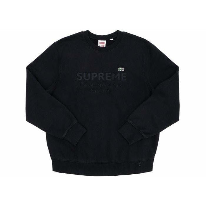 Supreme Lacoste Crewneck - Authentic limited sneakers at HDG.sales