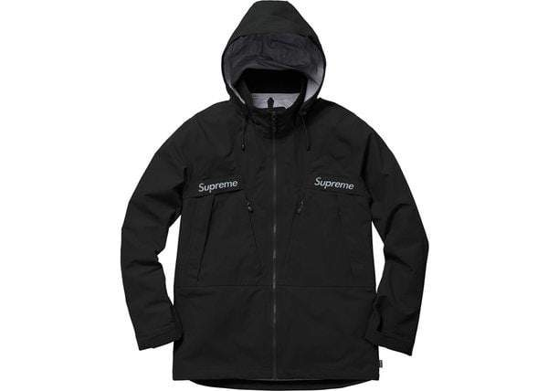 Supreme Taped Seam Jacket Black - Authentic limited sneakers at HDG.sales
