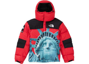 Supreme x The North Face Baltoro Statue Of Liberty Red