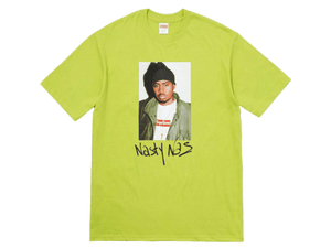 Supreme Nas T-Shirt Lime - Authentic limited sneakers at HDG.sales