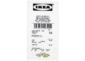 IKEA x Off-White Receipt Rug