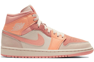 Air Jordan 1 Mid Apricot Orange (W)