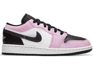 Air Jordan 1 Low White Light Arctic Pink
