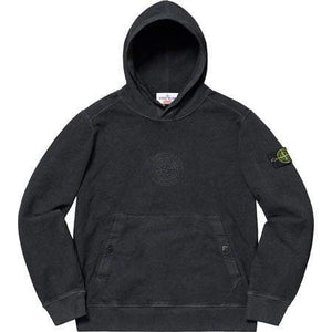 Supreme x Stone Island Hoodie Black - Authentic limited sneakers at HDG.sales