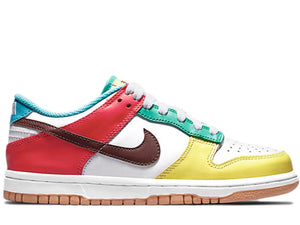 Nike Dunk Low Free 99 White (GS)