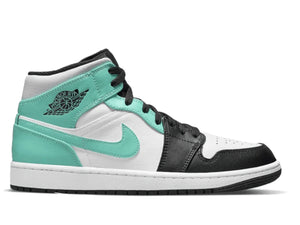 Air Jordan 1 Mid Island Green Igloo