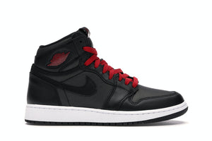 Air Jordan 1 High OG Black Satin Gym Red