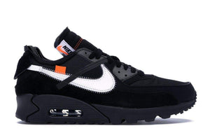 Nike x Off-White Air Max 90 Black - Authentic limited sneakers at HDG.sales