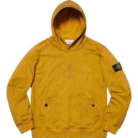 Supreme x Stone Island Hoodie Olive - Authentic limited sneakers at HDG.sales