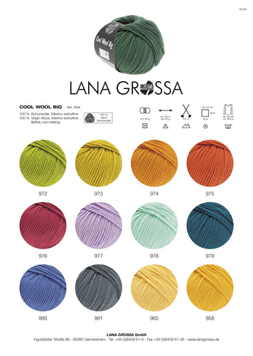Cool Wool Big Lana Grossa