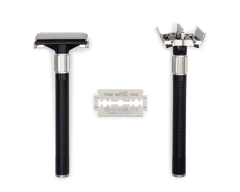 FEATHER®️ POPULAR DOUBLE EDGE RAZOR SET