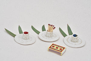 Porcelain Match Holder
