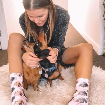 Image of Custom Dog Socks