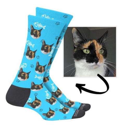 Image of Custom Cat Socks