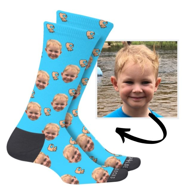 Custom Prank Socks