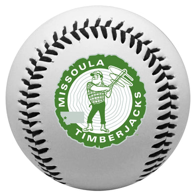 Missoula Timberjacks Logo Ball
