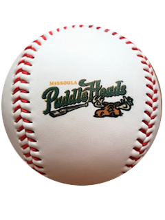 Missoula PaddleHeads Primary Logo Ball