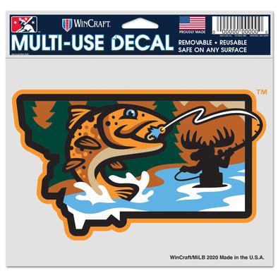 Missoula PaddleHeads State Decal