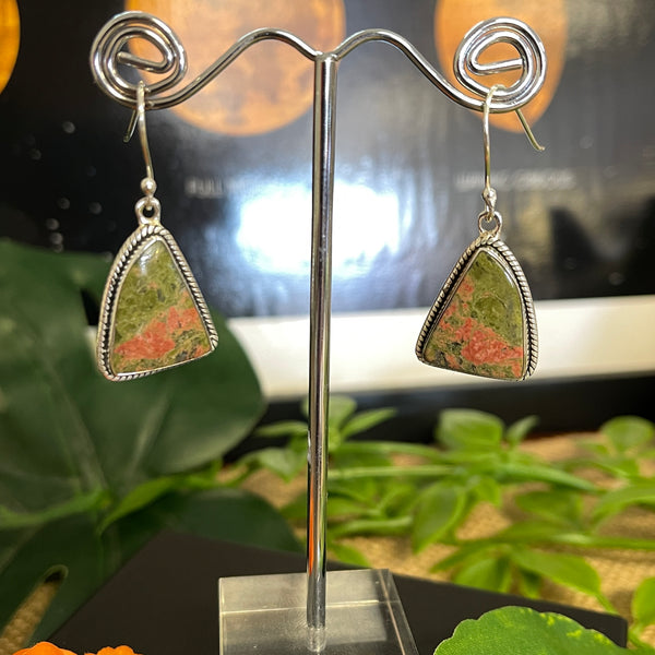 Unakite Earrings 10% OFF