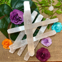 Selenite Cleansing Stick Rough