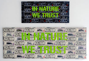 IN NATURE WE TRUST - Crop Hoodie Signed Acool55
