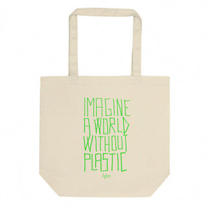 PROUD NOT TO BE A PLASTIC  BAG Eco Tote Bag
