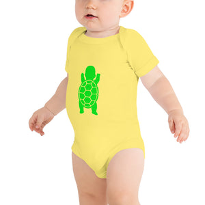 Baby Turtle - One piece - short sleeve - baby body suit