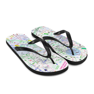 Be Aware of Crossing Angels - Flip-Flops