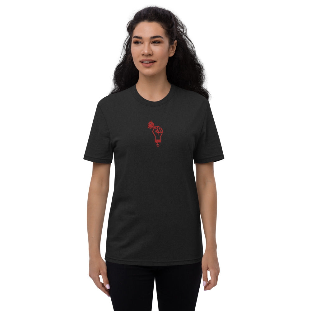TRUST PEACE - Embroidered Unisex recycled t-shirt