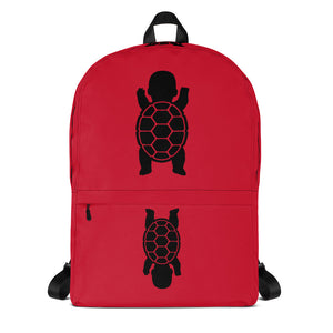 BABY TURTLE - by Acool55 - RED Backpack