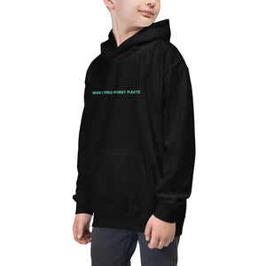 Imagine a World Without Plastic - Kids Hoodie