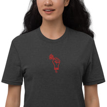 Load image into Gallery viewer, TRUST PEACE - Embroidered Unisex recycled t-shirt
