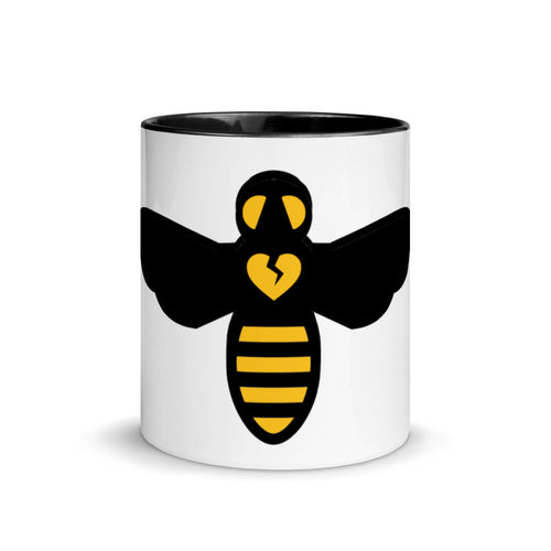 BEE HUMAN by Acool55 Mug with Color Inside