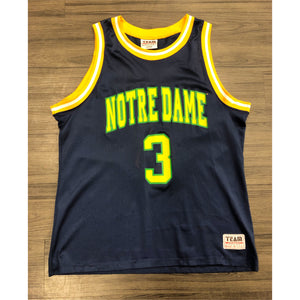 VINTAGE TEAM EDITION APPAREL NCAA NOTRE DAME BASKETBALL JERSEY