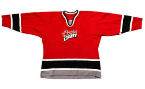 Vintage Coors Light CCM NHL Red Hockey Jersey XL Great Condition