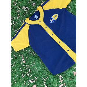 VINTAGE SIGNAL SPORT NCAA UNIVERSITY OF MICHIGAN BASEBALL JERSEY