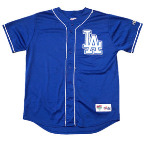 LA DODGERS Authentic Majestic Diamond collection Baseball Jersey SIZE L LARGE